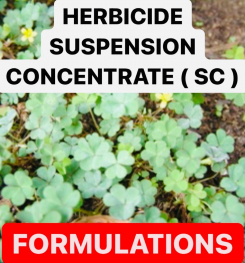 HERBICIDE SUSPENSION CONCENTRATE ( SC ) FORMULATIONS AND PRODUCTION PROCESS