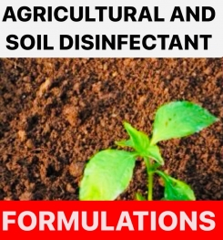 AGRICULTURAL AND SOIL DISINFECTANT FORMULATIONS AND PRODUCTION PROCESS