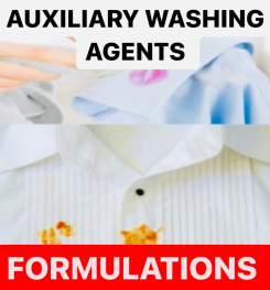 AUXILIARY WASHING AGENTS FORMULATIONS AND PRODUCTION PROCESS
