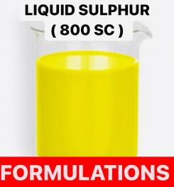 LIQUID SULPHUR ( 800 SC ) FORMULATIONS AND PRODUCTION PROCESS