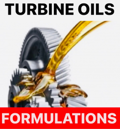 TURBINE OILS FORMULATIONS AND PRODUCTION PROCESS