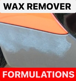 WAX REMOVER FORMULATIONS AND PRODUCTION PROCESS