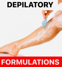 DEPILATORY PRODUCTS FORMULATIONS AND PRODUCTION PROCESS