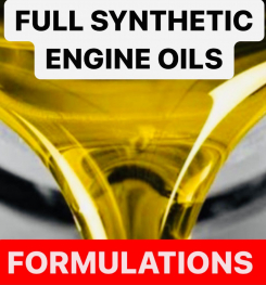 FULL SYNTHETIC ENGINE OILS FORMULATIONS AND PRODUCTION PROCESS