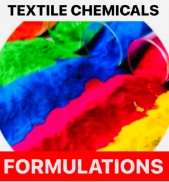 TEXTILE CHEMICALS FORMULATIONS AND PRODUCTION PROCESS