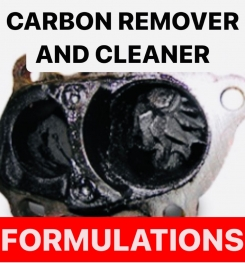 CARBON REMOVER AND CLEANER FORMULATIONS AND PRODUCTION PROCESS