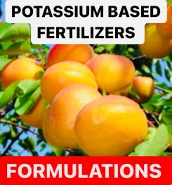 POTASSIUM BASED FERTILIZERS FORMULATIONS AND PRODUCTION PROCESS