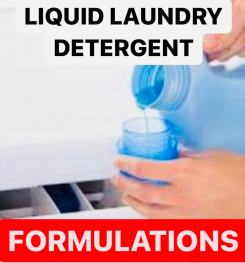 LIQUID LAUNDRY DETERGENT FORMULATIONS AND PRODUCTION PROCESS