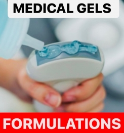 MEDICAL GELS FORMULATIONS AND PRODUCTION PROCESS
