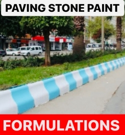 PAVING STONE PAINT FORMULATIONS AND PRODUCTION PROCESS