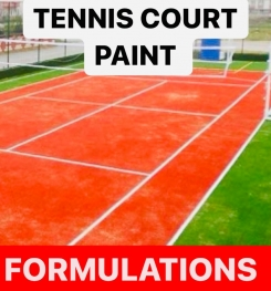 TENNIS COURT PAINT FORMULATIONS AND PRODUCTION PROCESS