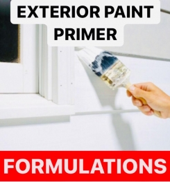 EXTERIOR PAINT PRIMER FORMULATIONS AND PRODUCTION PROCESS